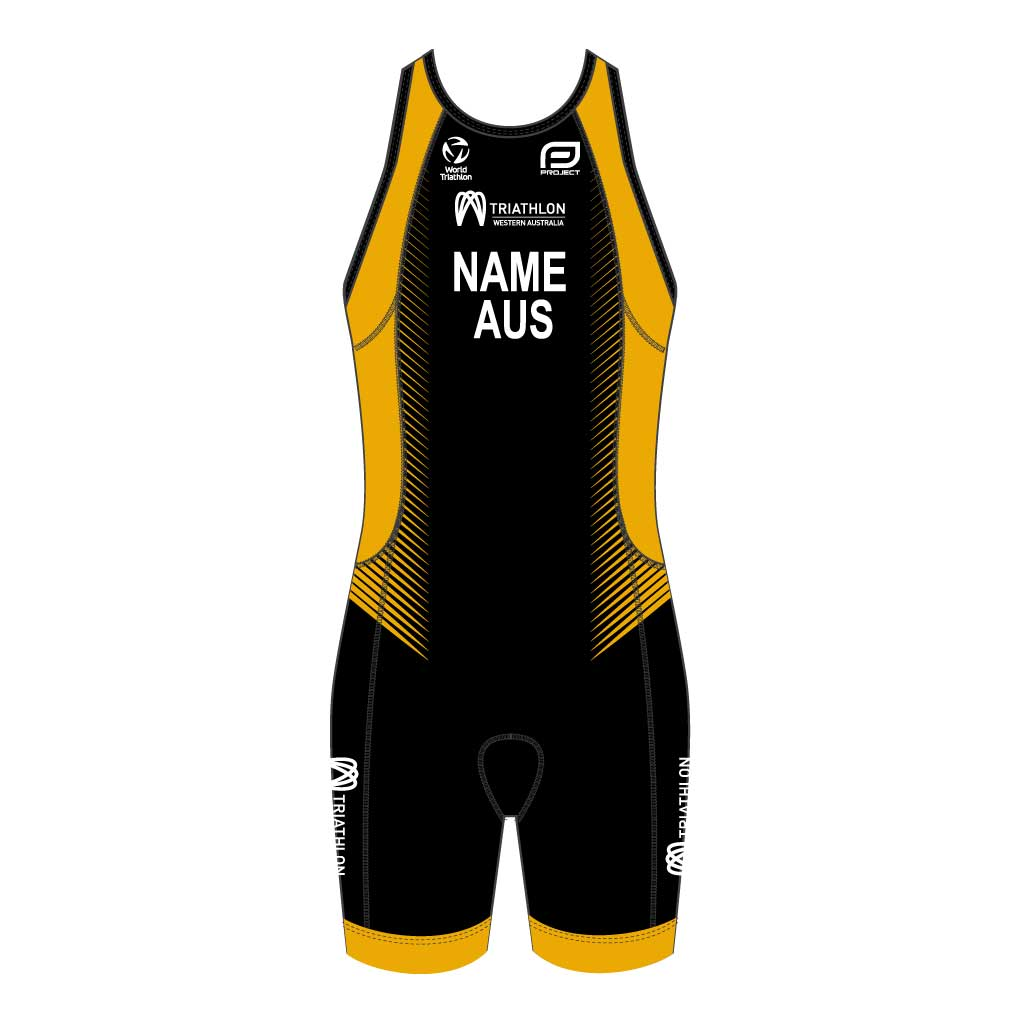 Triathlon WA Women's Elite Racerback Trisuit