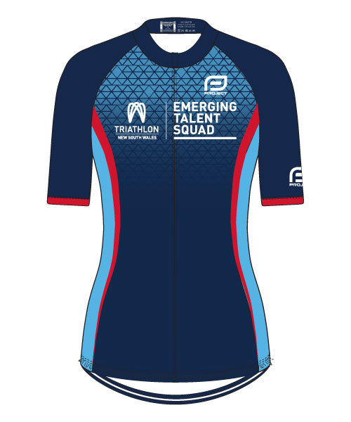 Tri NSW Emerging Talent Women's Race Fit Cycle Jersey