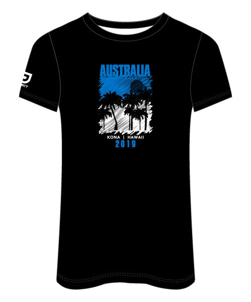 Kona 2019 Women's Sublimated Run Tee (Team Aus)