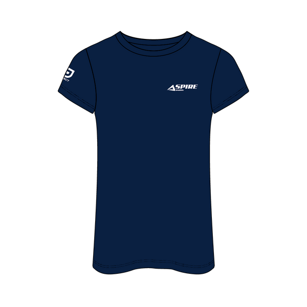 Aspire 2020 Women's Casual Tee - Navy