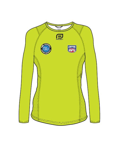 PFUA Women's LS Active Run tee - (On field)
