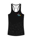 NAB RunWest - Women's Escape Singlet Black