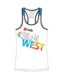 NAB RunWest - Women's Escape Singlet Blue