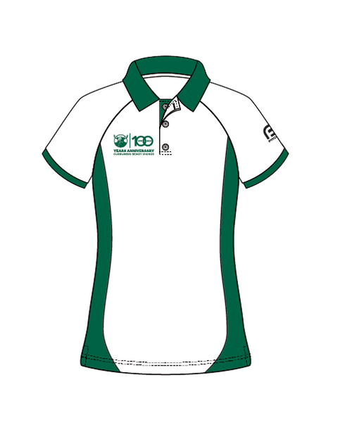 100 Year Currumbin SLSC Women's Polo Shirt