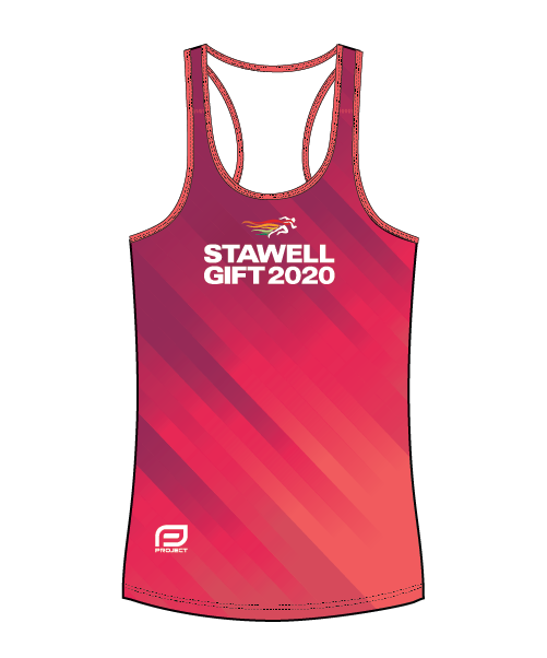 Stawell 2020 Women's Escape Singlet - Pink