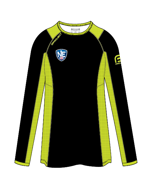 NEAFL - Women's Long Sleeve Active Umpire Tee - Off Field