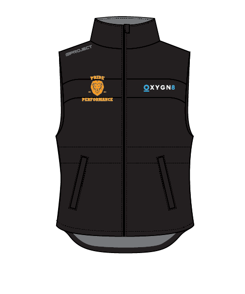 Pride Performance Women's Oxygn8 Vest - Black
