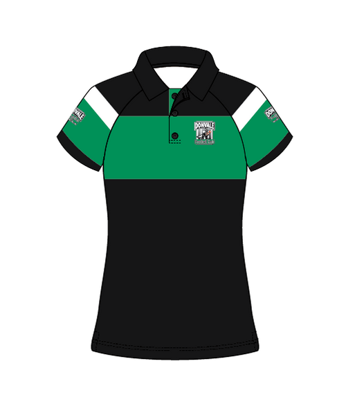 Donvale FC  Women's Polo DESIGN 1