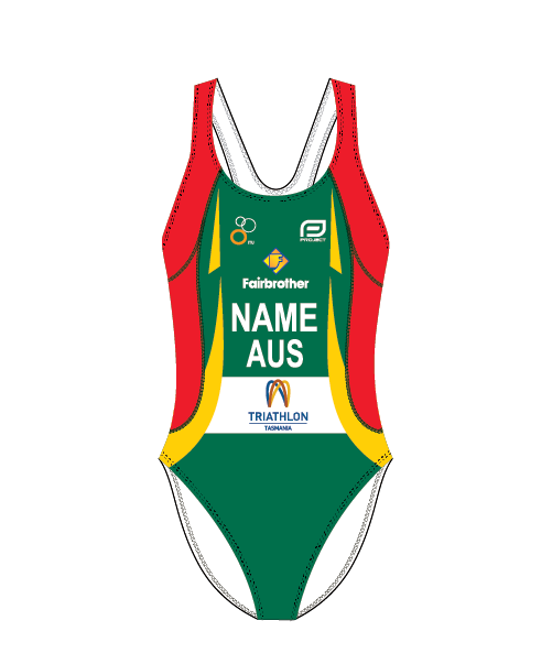 Triathlon Tasmania Women's Elite Swimsuit