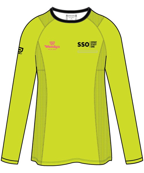SSO Women's Long Sleeve Active Tee - optional