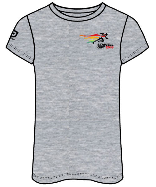 Women's Casual Tee - Grey