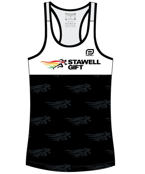 Women's Escape Singlet - Black