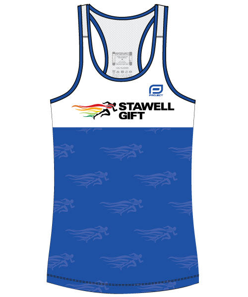 Women's Escape Singlet - Blue