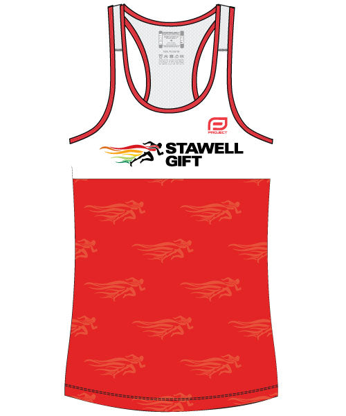 Women's Escape Singlet - Red
