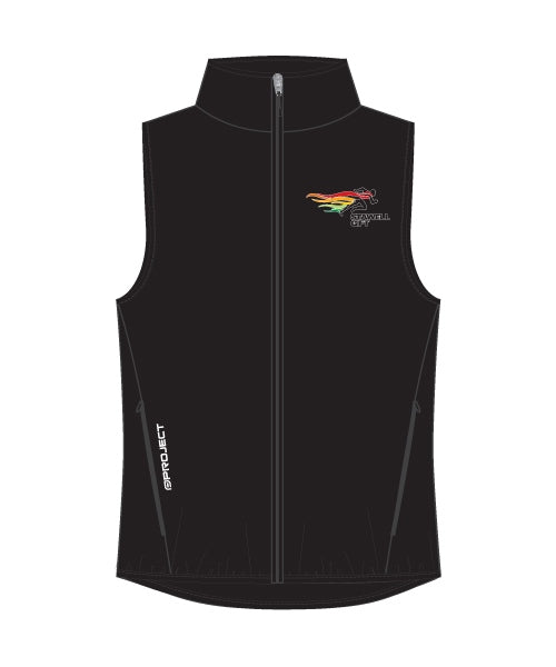 Women's Shell Membrane Vest - Black