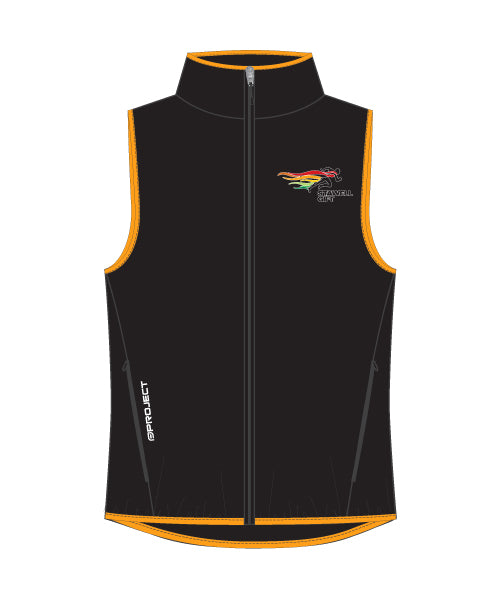 Women's Shell Membrane Vest - Orange