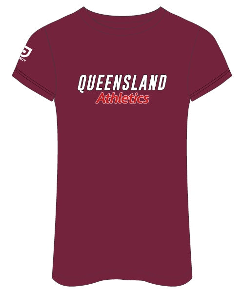 QLD Athletics Women's Casual Tee