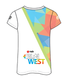 NAB RunWest - Women's Sublimated V Neck Run Tee
