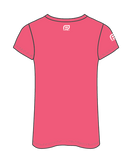 NAB RunWest - Women's Sublimated V Neck Tee - Pink