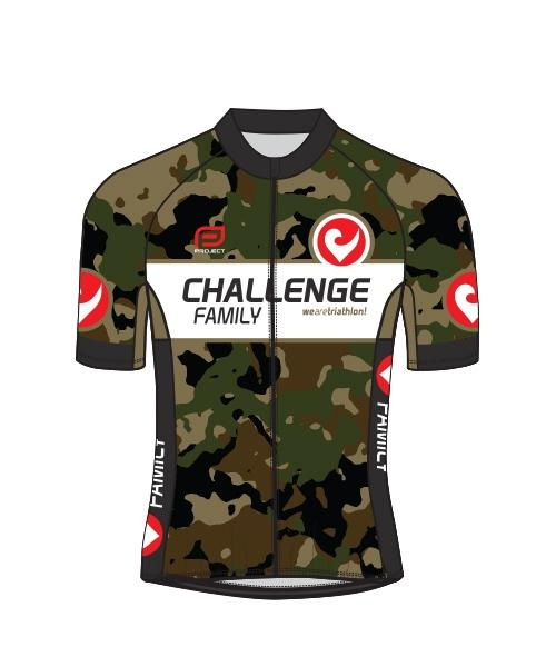 Cycle Jersey - Mens - Camo