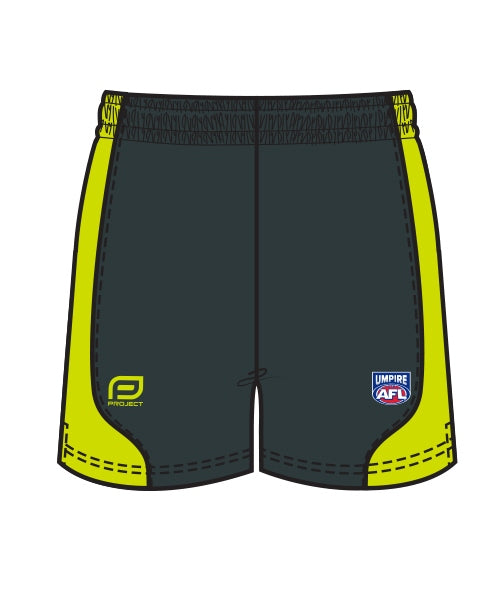 AFL Men's Umpire Short With Chamois - NUSP