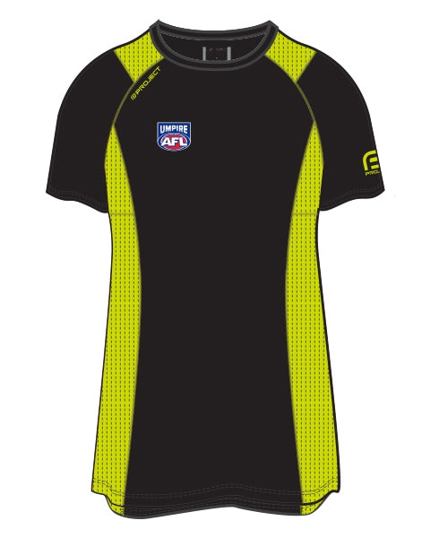 AFL Women's Active Umpire Tee - Off Field