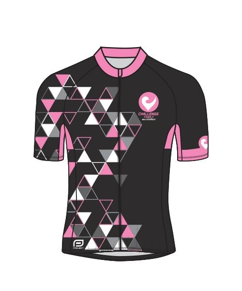 Cycle Jersey - Womens - Pink Triangle