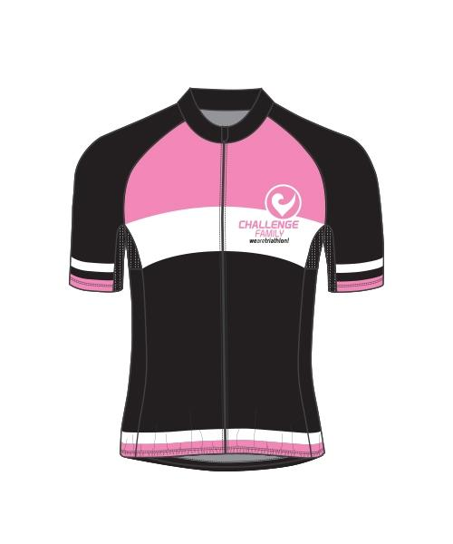 Cycle Jersey - Womens - Pink White
