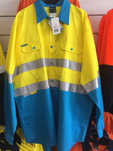 High Vis D/N Long Sleeve Mesh Shirt with Tape