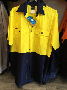 High Vis Long Sleeve Mesh Shirt