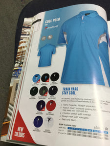 MENS STAY COOL POLO