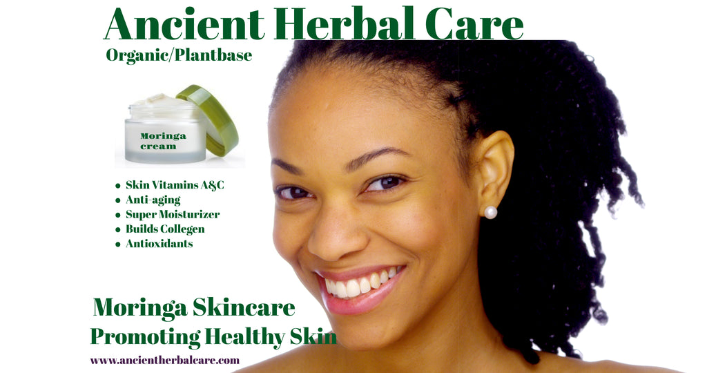 10oz Moringa Anti-aging Face and Body Creme'
