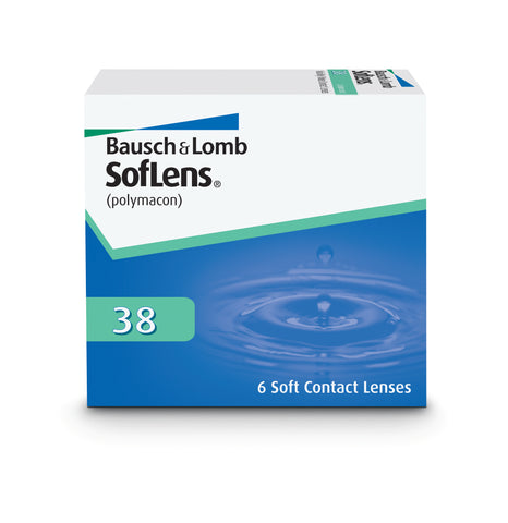 Soflens 38 1 box (6 lenses)