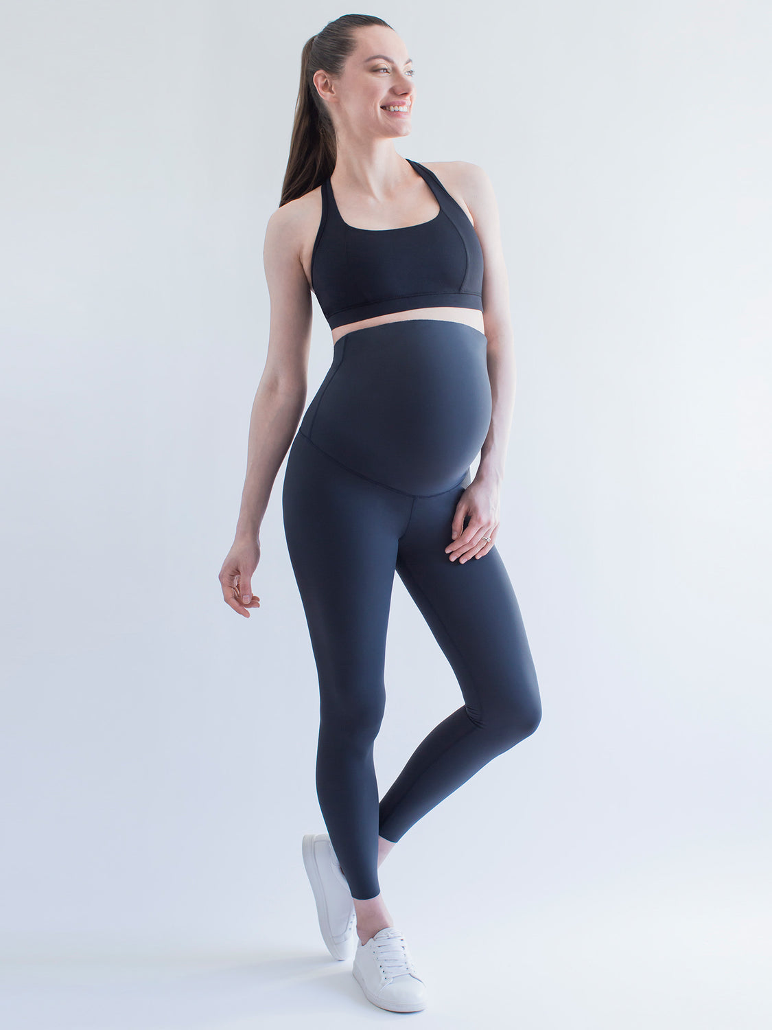 OVER THE BUMP MATERNITY SHAPE PANTS, MIDNIGHT