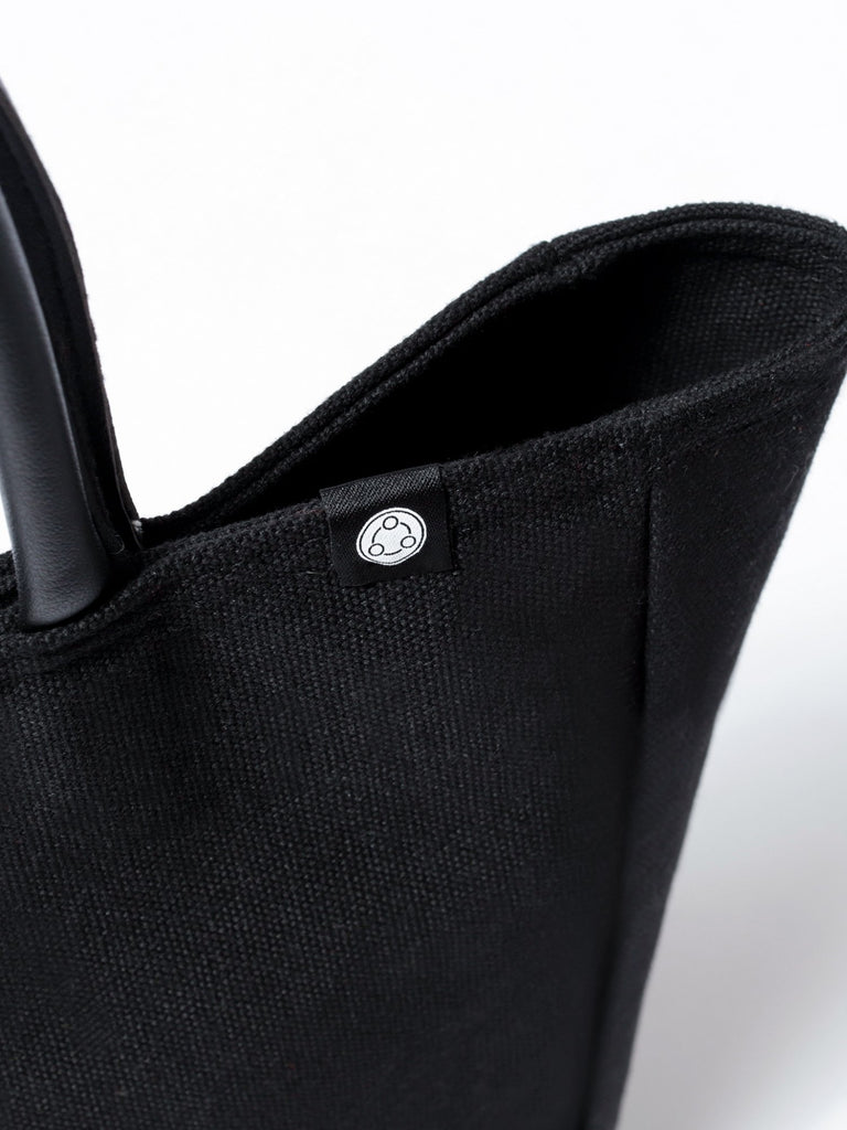 CANVAS TOTE, BLACK