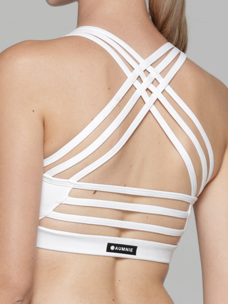 EMBRACE BRA, WHITE