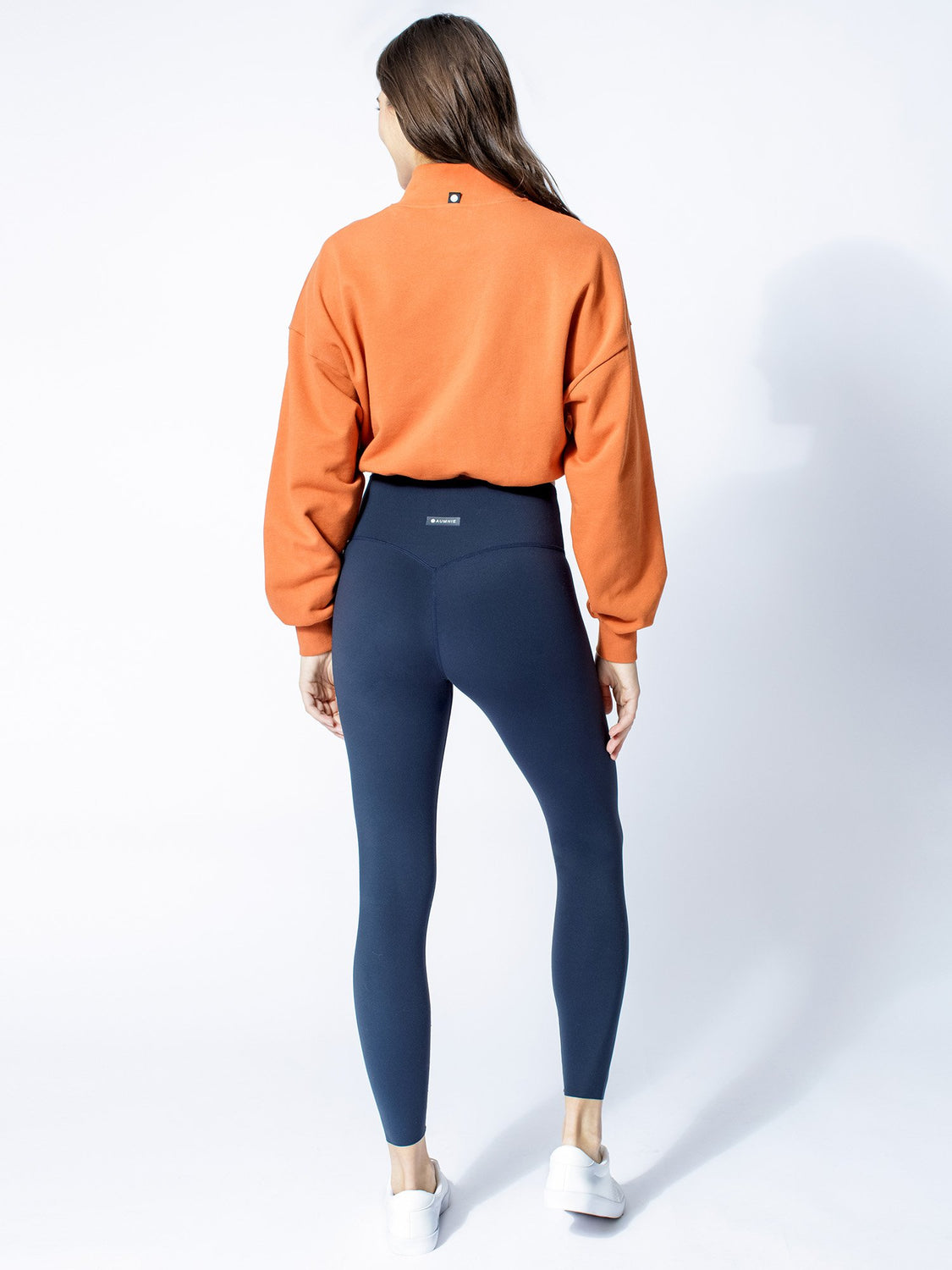 CT COTTON HALF ZIP SWEATSHIRT, SUNSET