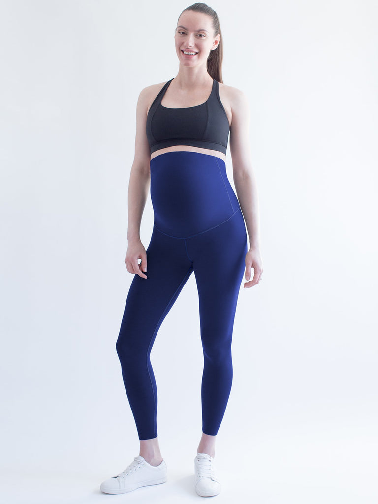 OVER THE BUMP MATERNITY SHAPE PANTS, NIGHT OCEAN
