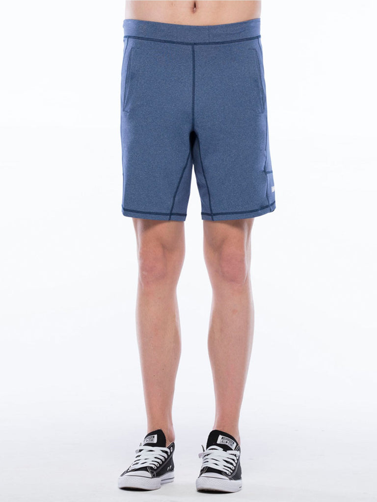 SPEED SHORT 2.0, HEATHER BLUE