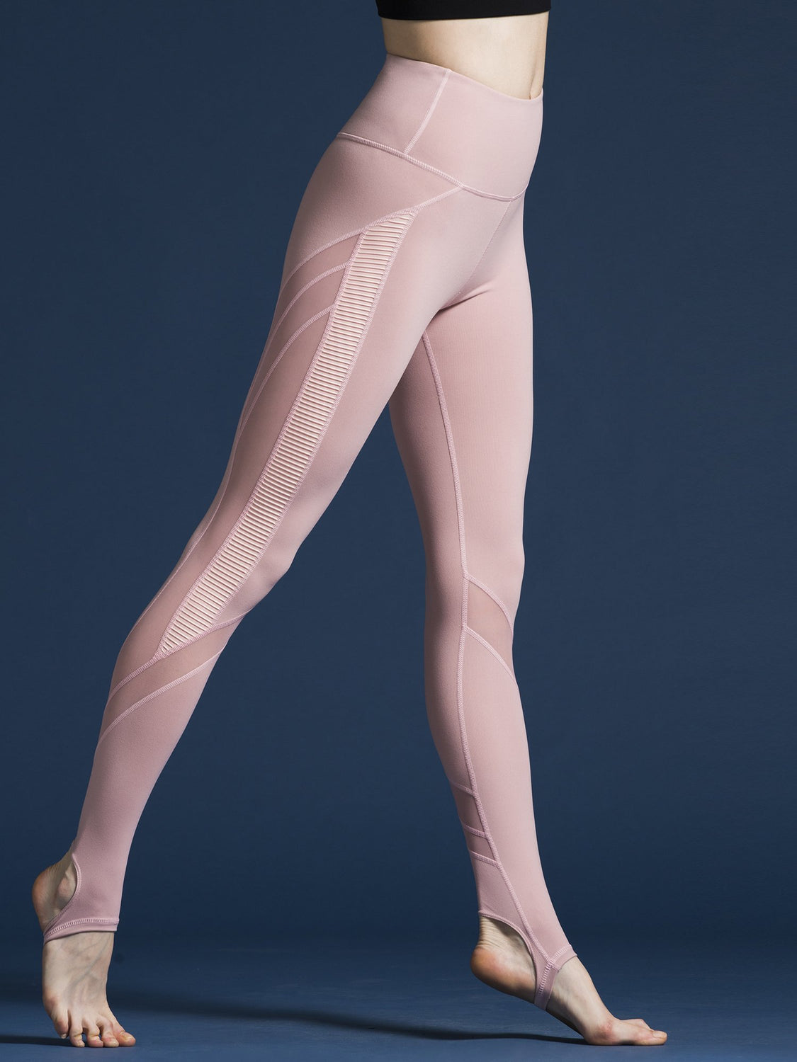 WAVE PANTS, BLUSH/BLUSH MESH