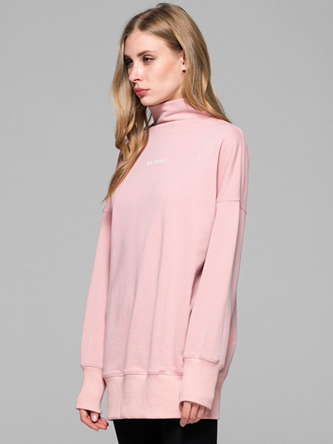 LONG SWEATSHIRT, PINK