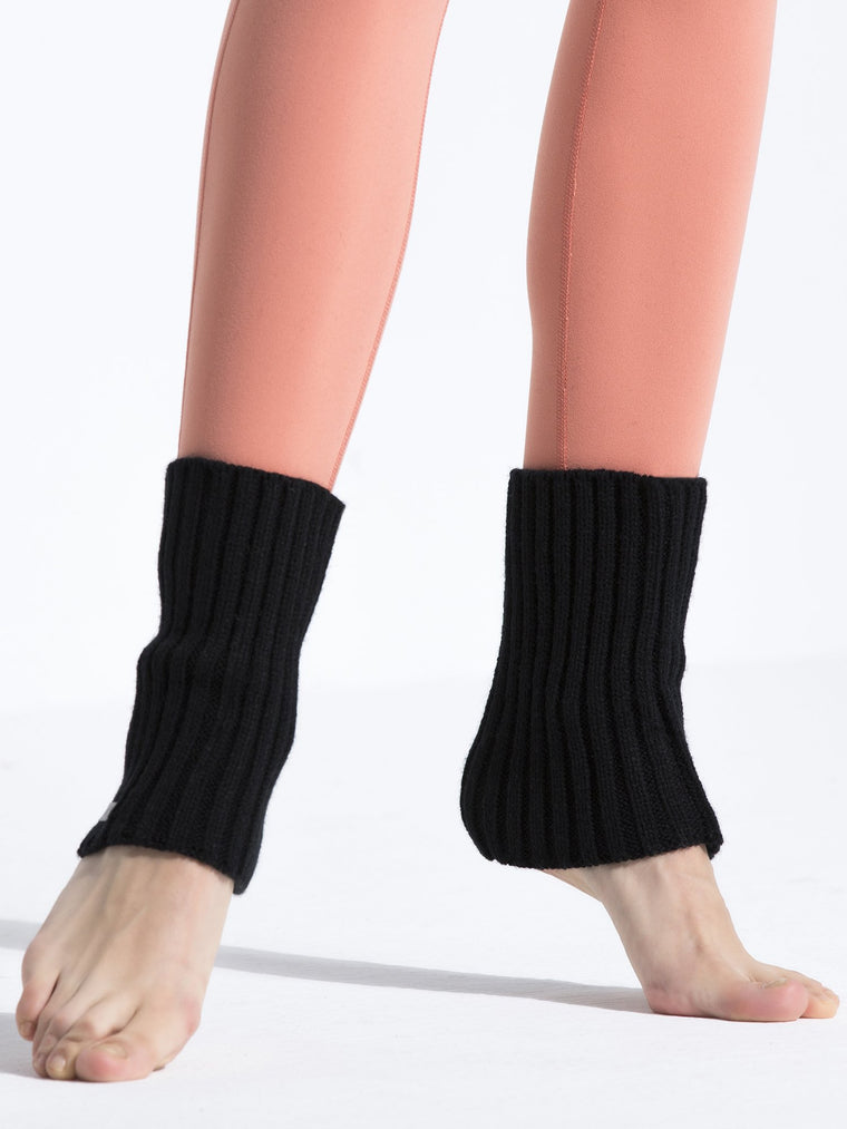 ANKLE WARMERS, BLACK