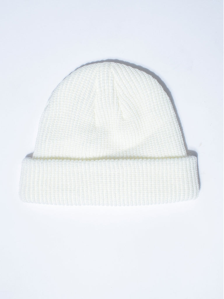 BROOKLYN BEANIE,  WHITE