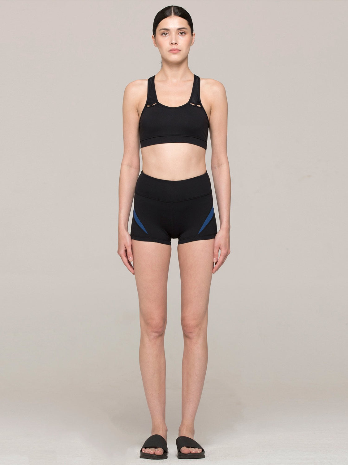 INCEPTION SHORTS, BLACK/ATLANTIC