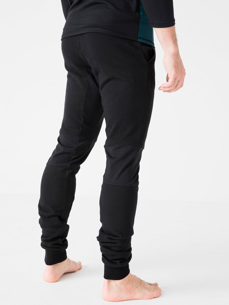 TAPERED PANTS, BLACK