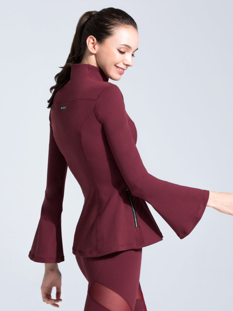 BELL JACKET, BORDEAUX