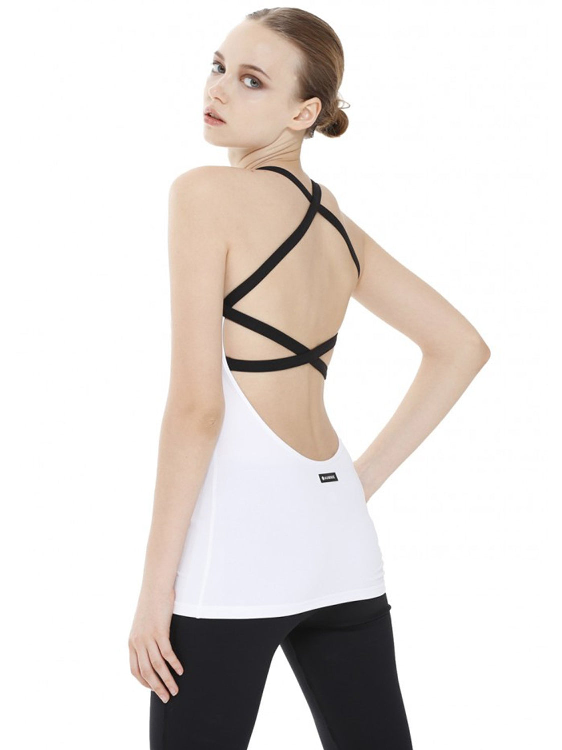 PARALLEL TANK 2.0, WHITE/BLACK