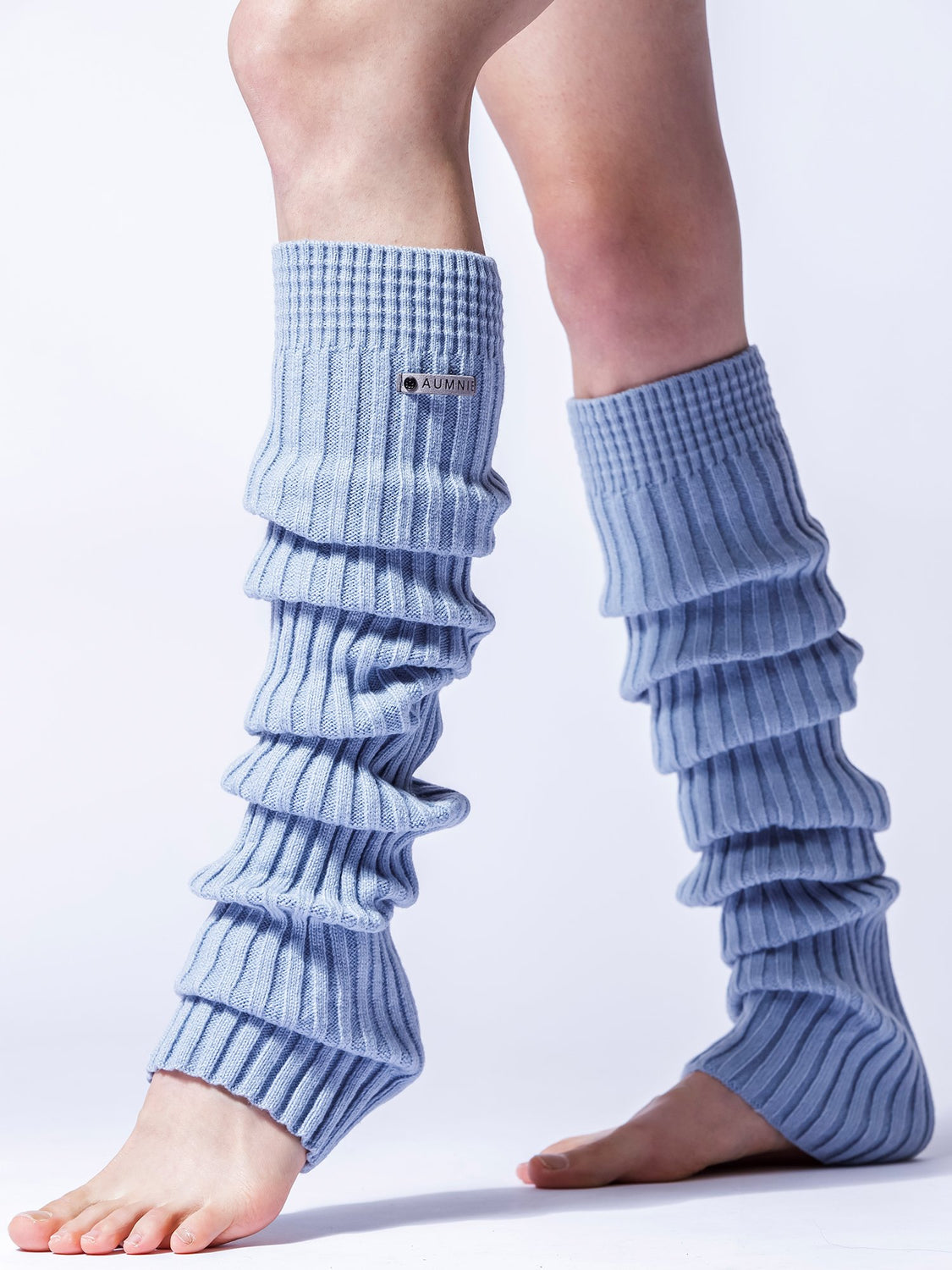 KNEE HIGH LEG-WARMERS, QUARRY