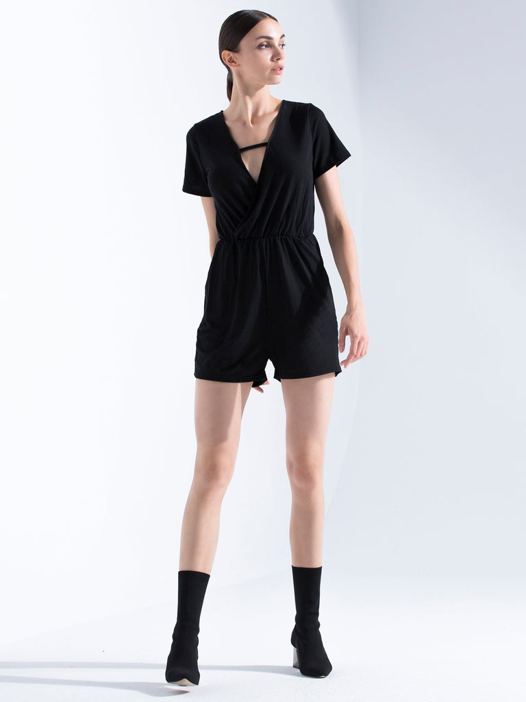 FITTED TEE ROMPER
