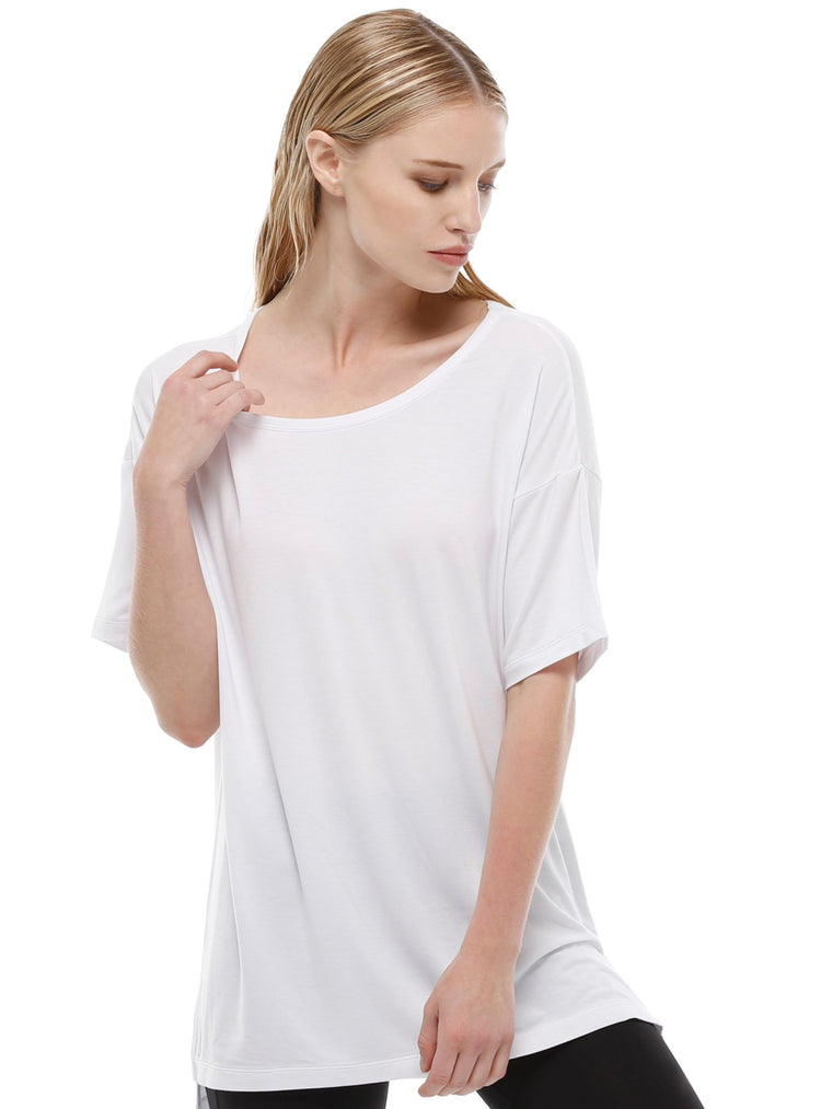 OVERSIZED BOYFRIEND TEE, WHITE